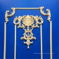 Ornamento de madeira antigos de madeira da parede dos ornamento da mobília de Onlays