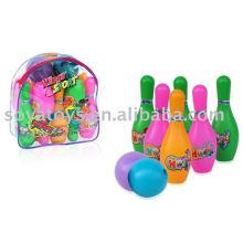 908021887 Ensemble de boules de bowling de 6,5 pouces pour jeu de sport pour enfants