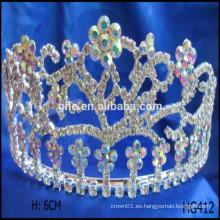 Corona de flores corona feliz año nuevo tiaras de Navidad corona príncipe maleta