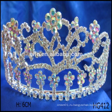 Цветочный конкурс короны счастливый новогодний рождественский тиары принца корону чемодан