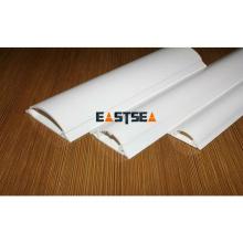 Venta al por mayor en Alibaba alta calidad blanco alambre eléctrico PVC plástico cubierta de alambre conducto