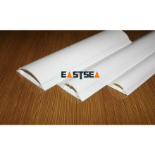 Exportation de Gaine de câble électrique pour plancher en plastique PVC blanc flexible de Zhejiang Chine