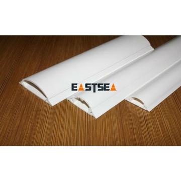 Großhandel in Alibaba Hochwertige weiße elektrische Draht PVC Kunststoffdrahtabdeckung Kanal
