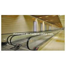 CE qualificado 0 ~ 6 inclinação 800mm indoor Movendo o transporte de passageiro da caminhada