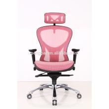 light color durable brace flexible mesh swivel chair