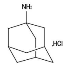 Amantadina HCl CAS No. 665-66-7 Cloridrato de 1-Adamantanamina