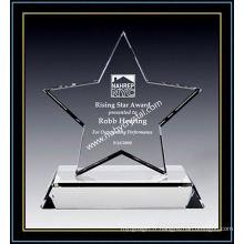 Prix d'excellence Crystal Star de 7 pouces de hauteur (NU-CW864)