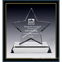 Crystal Star Award of Excellence 7 Inch Tall (NU-CW864)