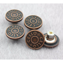 Wholesale High Quality Metal Button for Jeans