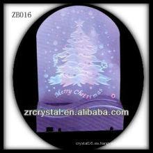 Bonita base de luz LED para regalo de Navidad