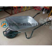 Camión de mano con una herramienta de rueda para Garden Barrow Wb6414