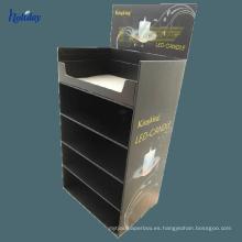Luces de cartón Pantalla Papel Material Suelo Soporte para bombilla