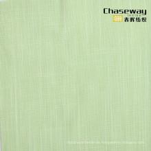 Tela de lino de dos tonos con aspecto de bambú