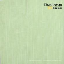 Tissu en mousse de coton en bambou à deux tons
