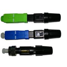 Connecteur rapide Simplex sc apc, fibre thermofusible fibre optique avec connecteur rapide