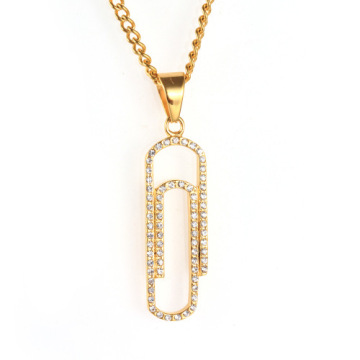 Bijoux Collier Simple Designs Trombone Forme Collier