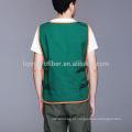 Avental de ferramenta prática de trabalho de algodão poliéster com muitos bolsos de função