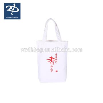 100% bolsas de algodón para productos de compras