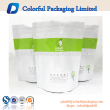 Doypack plastic ziplock bag stand up pouch window dried fruit packaging plastic bags 1kg