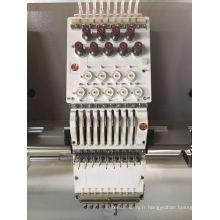 Machine à broder plat à la tête de 30 Head 9