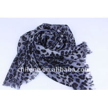 Leopard printed scarf