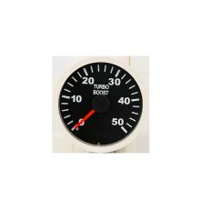 Medidor de tacómetro de voltios de presión de aceite de automóvil cromado de 52 mm