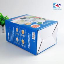 Caixa de papel de empacotamento ondulado feito sob encomenda do brinquedo da impressão da dobradura