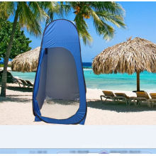 Instant pop up shower tent