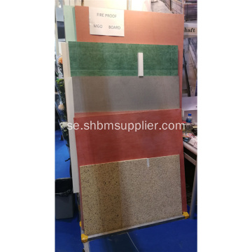 No-Formaldehyd Anti-Moth Fireproof MgO Panel