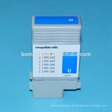 130 ml * 6 Farben kompatible Tintenpatronen für Canon PFI 102 PFI-104 mit Chip und Tinten