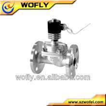 Vanne solénoïde miniature hydraulique en acier inoxydable