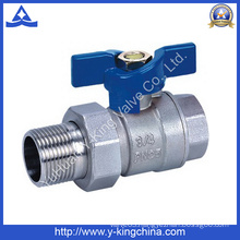 Female Brass Ball Valve with Union Joint (YD-1004)
