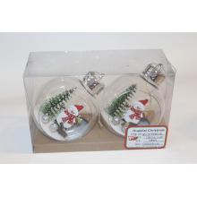 Arbre de bonhomme de neige décoration de Noël accrocher des ornements suspendus