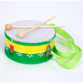 Hote sale chinese musical instrument toy acoustic drum set baby musical toy