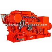 CE genehmigt (10kw-2000kw) Erdgas-Aggregat