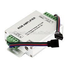RGB Signal Amplifier Repeater for 10m / 32.8ft 4 Pin RBG 5050 3528 LED Strip Lights , 12V to 24V 12A DC