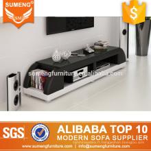 Guangdong usine directement frais design en bois led lumière tv table