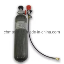 Multi Layer Corrosion Resistance and High Pressure Treatment Diving Oxygen Cylinders for Sale