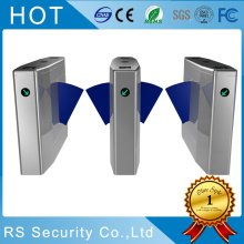Glass Wing Speed Gate Flap Turnstile Barrier