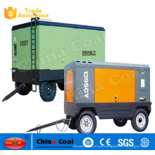 Oil air compressor for vehicle brake