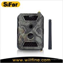 Monitoramento de segurança da câmera suporte ao ar livre wi-fi / gprs / 3g celular operado por bateria ativa para a vigilância de área remota
