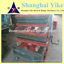 Jianshe mâchoire concasseur sièges basculants 250x1000,600x900,750x1060 plus beaucoup plus de tailles jianshi shenyang marque