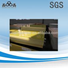 Buenas hojas de fibra de vidrio amarillo 4x8