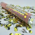 La mejor calidad 24 pulgadas de color redondo ignífugo biodegradable del partido y de la boda confeti cañones