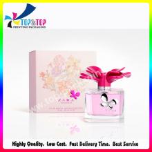 Custom Design Paper Printing Pink Folding Perfume Box