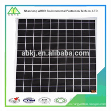 Supply activated carbon air filter material/ industrial air filter.