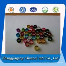 1050 Farbe eloxiert Pigeon Ring Aluminium-Rohr