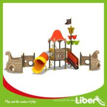 China Supplier Sicherheit Kinder Plastik Slide Outdoor Spielplatz Amusement Equipment