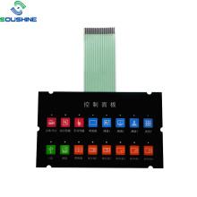 3 Cable FPC flex EL backlight membrane switch