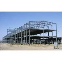 Construção de Armazém Estrutural de Aço Acessível
